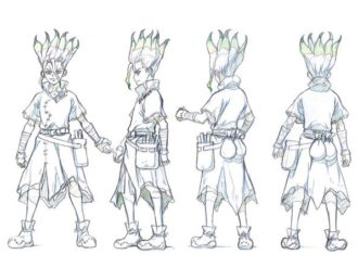 Dr. Stone Reveals Character Sketches