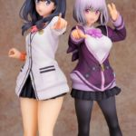 SSSS.Gridman Figures of Rikka and Akane | Anime Merchandise Monday (February 2019) | MANGA.TOKYO ©円谷プロ ©2018 TRIGGER・雨宮哲/「GRIDMAN」製作委員会