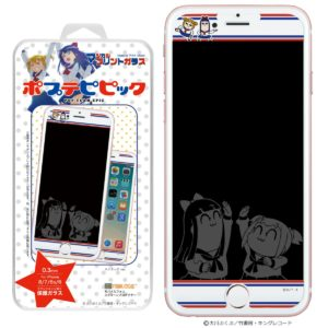 Mobile Phone Screen Protector Pop Team Epic | Anime Merchandise Monday (February 2019) | MANGA.TOKYO(C)大川ぶくぶ/竹書房・キングレコード  (C)AC部