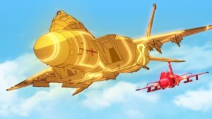 Girly Air Force Episode 5 Official Anime Screenshot