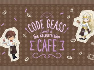 Code Geass Lelouch of the Resurrection Cafe to Open in Tokyo