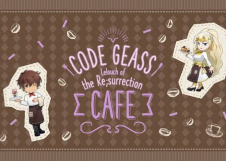 Code Geass Lelouch of the Resurrection Cafe