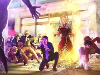 Jump Force Releases Live Action Japanese TV Spot