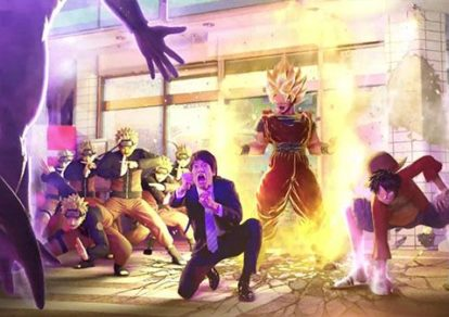 Jump Force Screenshot from Official Trailer.