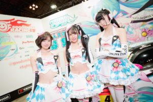 Racing Miku Sponsors 2019 at [Cosplayer] 2019 Wonder Festival - Winter: Focus on Hatsune Miku