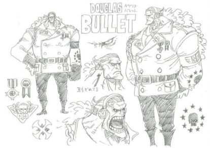 Character Illustration from anime movie One Piece Stampede