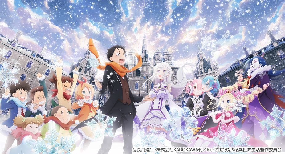 Image result for Re:zero: Starting Life In Another World - Frozen Bonds (2019) poster