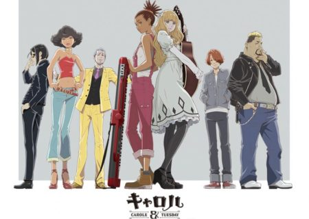 1Carole and Tuesday Anime Visual