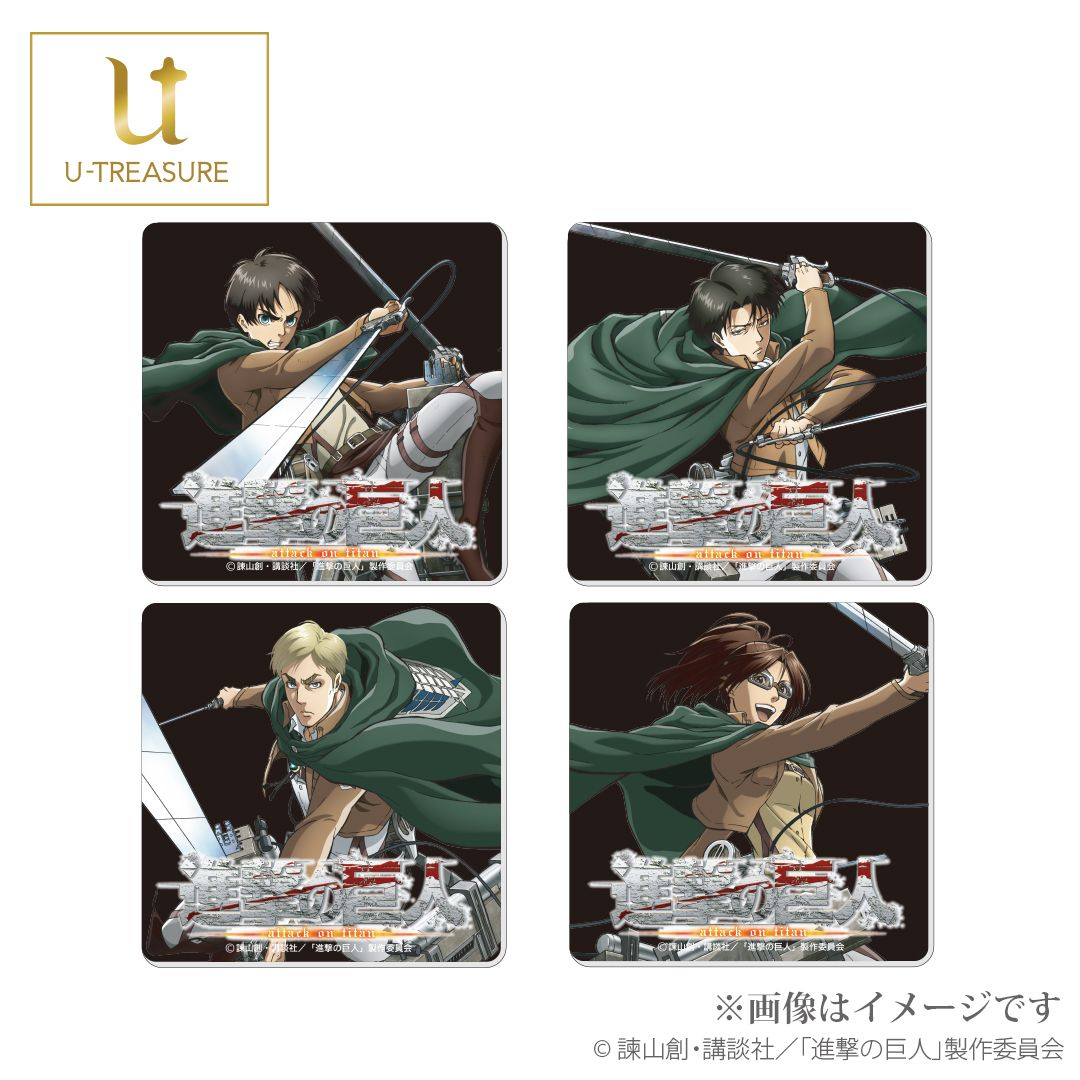 Attack on Titan Necklace | Anime Merchandise Monday (February 2019) | MANGA.TOKYO ©諫山創・講談社/「進撃の巨人」製作委員会