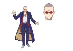 Jack from anime Shoumetsu Toshi: Where I End and You Begin