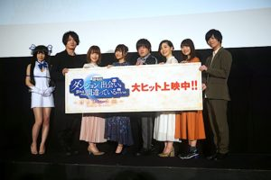 Danmachi: Arrow of the Orion Cast Greeting Report   Cast Picture