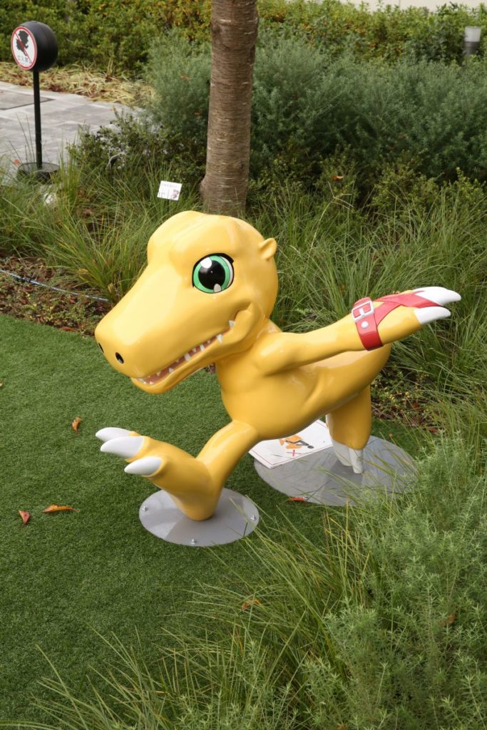 Agumon from Digimon Adventure | Toei Animation Museum & Studio Visit Photo Report