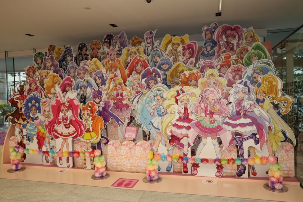 Pretty Cure Playground | Toei Animation Museum & Studio Visit Photo Report