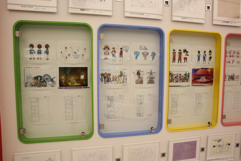 Toei Animation Museum & Studio Visit Photo Report