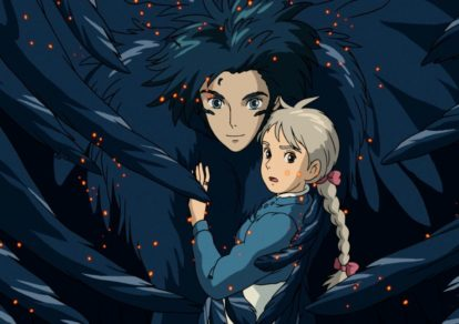 Howl's Moving Castle official anime screenshot