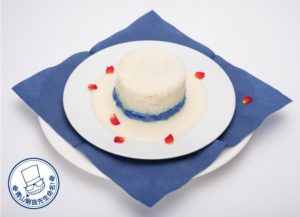 Main Dish from Kaito Kid Cafe in Tokyo | Detective Conan Anime ©青山剛昌/小学館・読売テレビ・TMS 1996