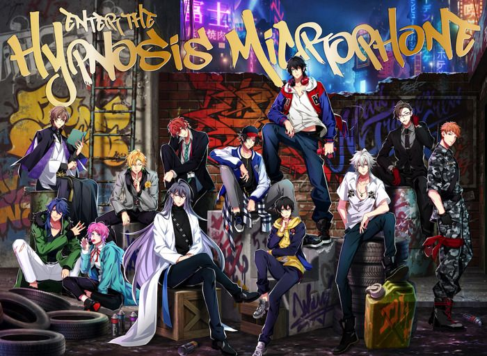 HYPNOSIS MIC -Division Rap Battle- 1st FULL ALBUM 'Enter the Hypnosis Microphone' LIVE Edition Jacket