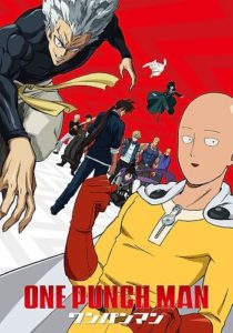 One Punch Man 2nd Season Anime Visual