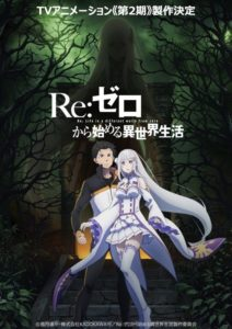 Re:Zero Anime's Video 2nd TV Anime Season Anime