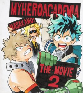 Second My Hero Academia Movie Announced For Winter 2020