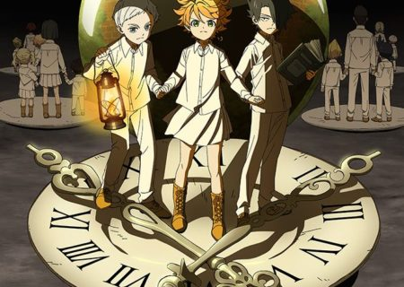 V anime The Promised Neverland (Yakusoku no Neverland) Official Anime Visual