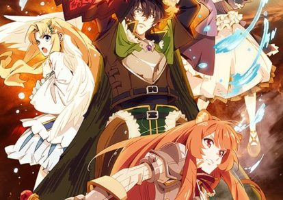 The Rising of the Shield Hero Official Anime Visual