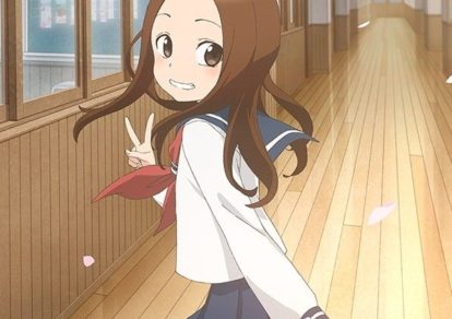 Takagi-san, the Master of Teasing 2 Anime Visual