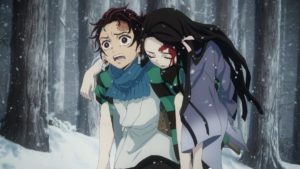 Demon Slayer: Kimetsu no Yaiba Episode 1 Official Anime Screenshot ©吾峠呼世晴/集英社・アニプレックス・ufotable