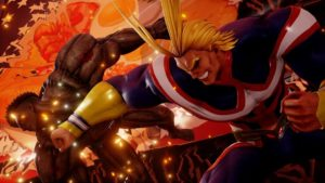 All Might from Anime My Hero Academia | Jump Force Game