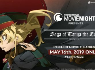 Crunchyroll Movie Night to Screen Saga of Tanya the Evil – The Movie in May 2019