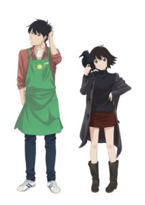 Rikuo and Haru from the anime adaptation of Kei Toume's Yesterday wo Utatte (Sing Yesterday for Me)