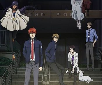 Midnight Occult Civil Servants (Mayonaka no Occult Koumuin) Anime Visual