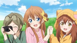 Hachigatsu no Cinderella Nine Episode 4 Official Anime Screenshot