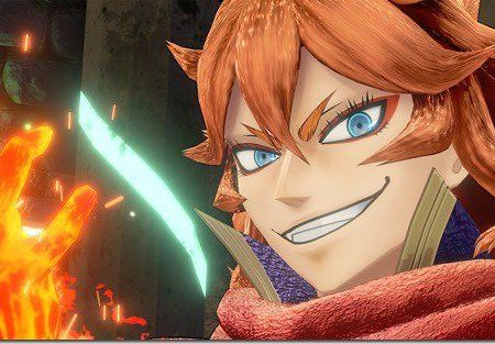 Mereoleona Vermillion from game Black Clover: Quartet Knights Screenshot