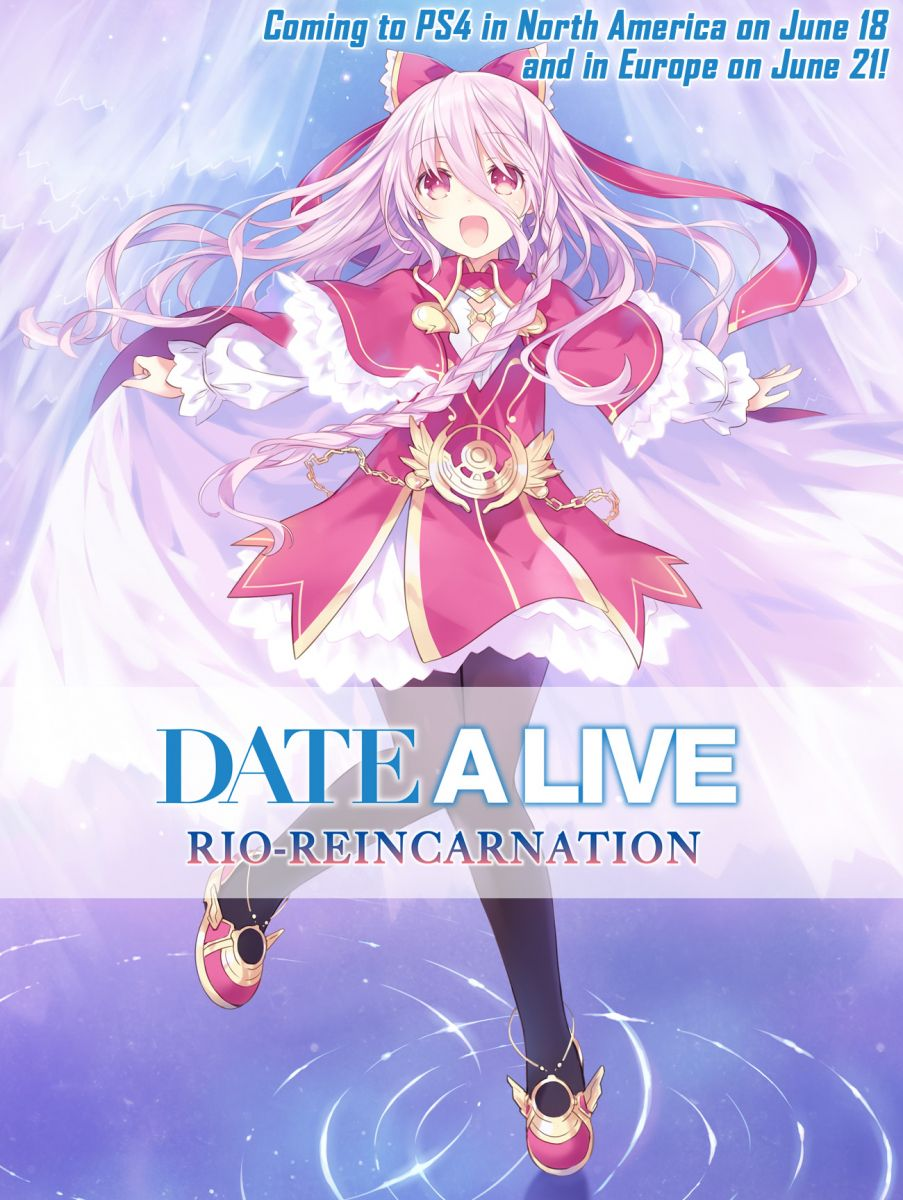 PS4 Date A Live: Rio Reincarnation Game Visual