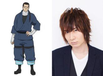 Fire Force Reveals Cast and Visual for Lieutenant Konro