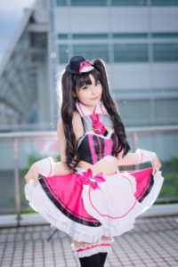 Amane Allie as Street Choco Maid (concept dress) from Fate/Grand Order | Cosplay Gallery from TonaCos