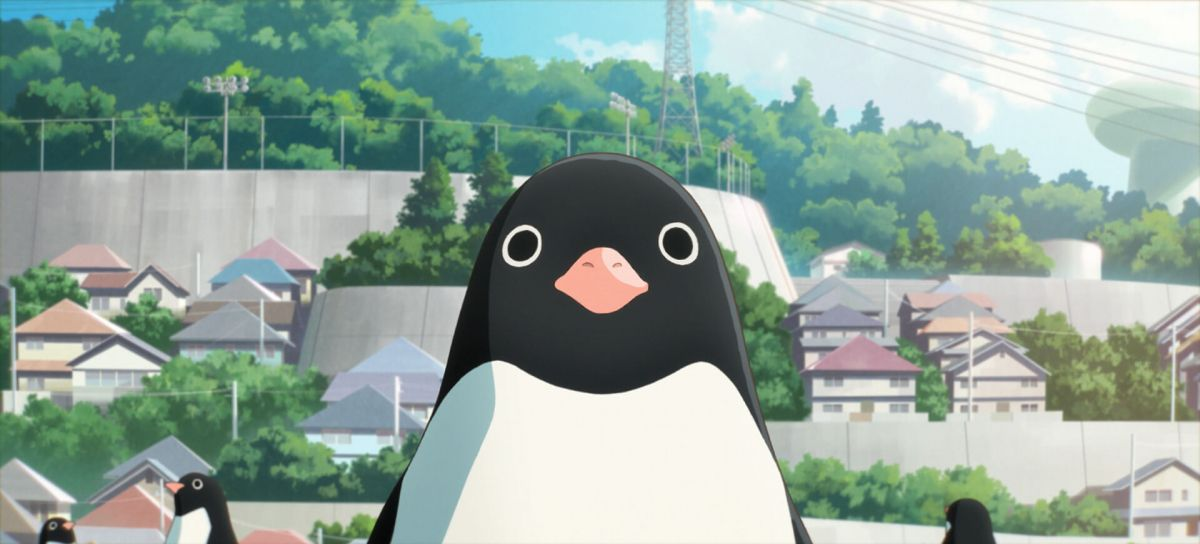 Official Screenshot from anime movie Penguin Highway