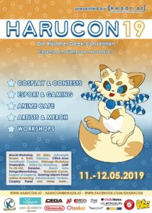 Harucon 2019 Poster