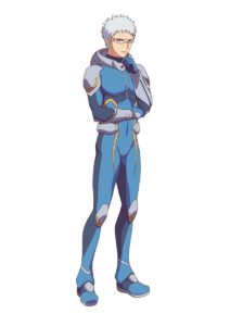 Zack Walker from anime Astra Lost in Space