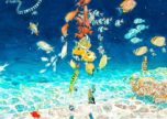 Children of the Sea CD jacket illustrated by Daisuke Igarashi