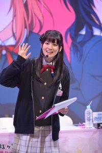 Aguri Onishi as Ayumu Uehara from Love Live! School Idol Festival Series Nijigasaki High School Idol Club Special Talk Stage Event