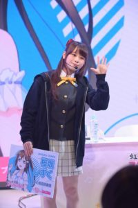Kaori Maeda as Shizuku Osaka from Love Live! School Idol Festival Series Nijigasaki High School Idol Club Special Talk Stage Event