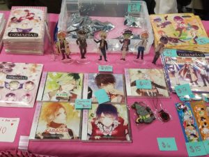 Merchandise Booth, Anime Art | Photo from Otakon | Washington DC Anime Convention