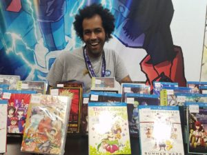 Merchandise Booth, Movies and Series Anime | Photo from Otakon | Washington DC Anime Convention