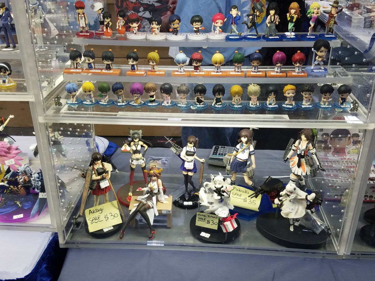 Anime Figures | Photo from Otakon | Washington DC Anime Convention