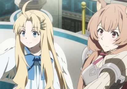 Official still from anime The Rising of the Shield Hero Episode 22