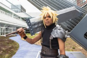 Cloud from Final Fantasy VII   Cosplay Photo from Pittsburgh's Japanese pop culture convention Tekko