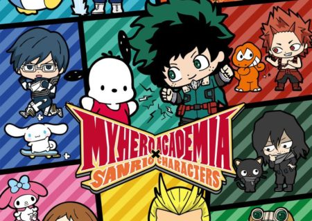 My Hero Academia x Sanrio Collaboration Visual