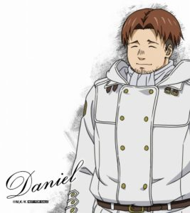 Daniel the Spriggan from anime To the Abandoned Sacred Beasts